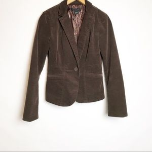 Calvin Klein Women's Brown Corduroy Jacket Lined